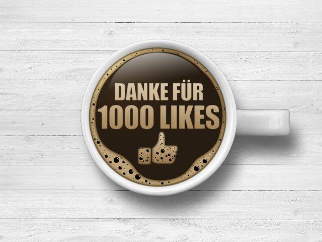 1000 Facebook-Likes